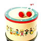 Trommel Lustige Spielzeug für Musik Lernen mit 2 Trommelschlägel Durchmesser ca. 20 cm