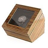 Watch-HLH Caja de Almacenamiento para Relojes Caja de Almacenamiento de joyería de Madera Maciza Reloj Caja de presentación de Reloj Individual de Madera