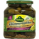 Kühne Schlemmertöpfchen Mild-Würzige Gürkchen, 300 g