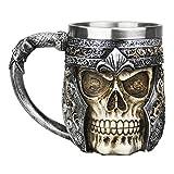 Neuheit 3D Schädel Kaffeetasse Teetasse Kaffee Tee Funny Mug Cup Tasse Becher Coffee Mugs wunderbares Geschenk für Weihnachten/Geburtstag/Gedenktag