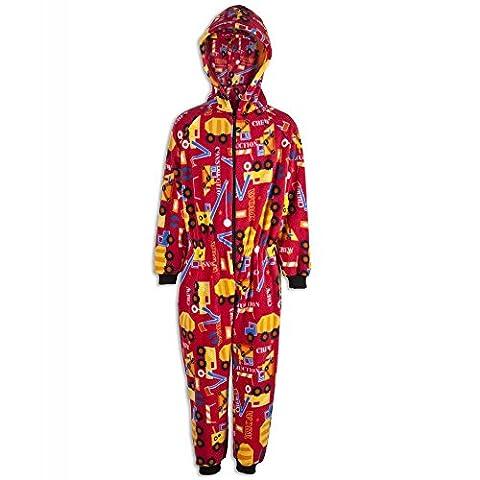 Combinaison pyjama pour enfant - unisexe - motif camions 6-8
