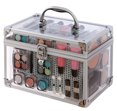 Technic Mallette maquillage transparente