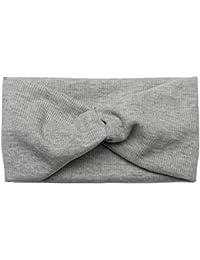 eae38300171d79 styleBREAKER Haarband in Feinripp Optik mit Schleife, Stirnband, Headband,  Damen 04026009