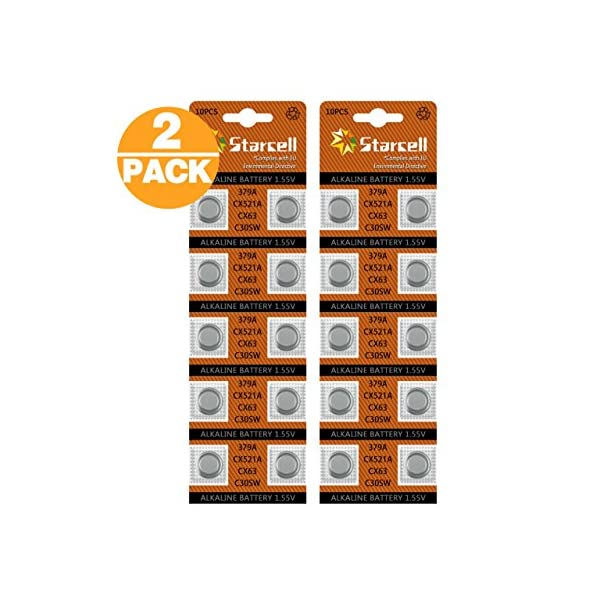 ACT 10 X AG13 LR44 Button Cells Batteries – A76 L1154 SR44 G13 357-1.5V 51RSADZZa1L