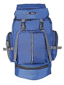 Bleu Backpack Rucksack Bag 255 - Hiking Lightweight Travel Bag 50L - (Dimensions (LxBxH):- 14x8x22 inches)