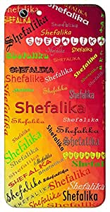 Shefalika (a flower) Name & Sign Printed All over customize & Personalized!! Protective back cover for your Smart Phone : Google Pixel