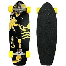 Surfskate GLUTIER. Carver system with Glutier T12 surf skate TRUCKS. Mafia Ga...