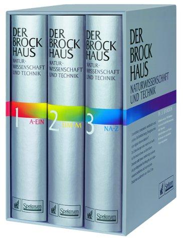 Der Brockhaus Naturwissenschaft und Technik, 3 Bde.