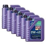 6x LIQUI MOLY 1360 Synthoil Energy 0W-40 Motoröl Vollsynthetisch 1L
