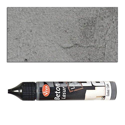 Preisvergleich Produktbild NEU Viva Decor Beton-Lasur 28ml, Dunkel
