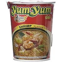 Yum Yum Instant Noodles Cup Shrimp - Paquete de 12 x 70 gr - Total: 840 gr