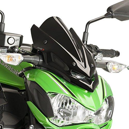 Windschild Puig Sport Kawasaki Z 900 2017 schwarz