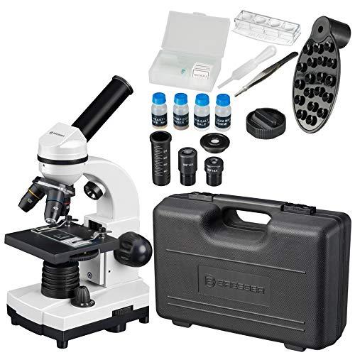 Microscope étudiant BRESSER Biolux SEL avec Coffret Rigide