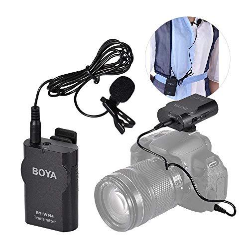 Boya BY-WM4 Microphone sans fil Lavalier avec écran en temps réel avec étui rigide pour appareil photo reflex numérique Canon Nikon Sony Cam... 4