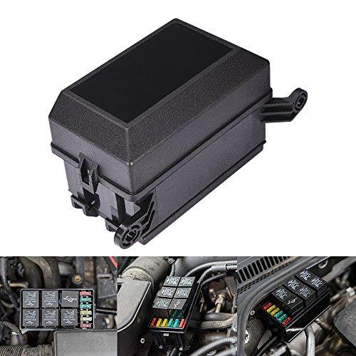 MicTuning 12-Stecker Relais Box Relaishalter, 6 Relais und 6 ATC/ATO Sicherungen Halter mit 41pcs Metallic Pins für Auto und Marine Boot -