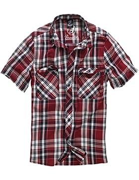 Brandit Uomo Roadstar Camicia Rosso taglia XL