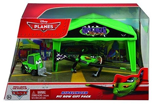 Mattel - Y5738 - Disney PLANES Hangar Geschenkset Ripslinger
