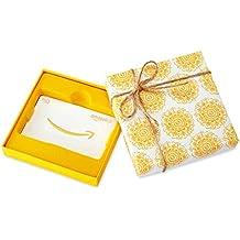 Amazon.de Geschenkgutschein in Geschenkbox (Ringelblumen) - mit kostenloser Lieferung am nächsten Tag