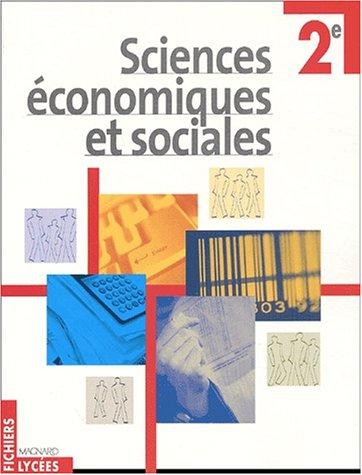 Sciences économiques et sociales, 2nde