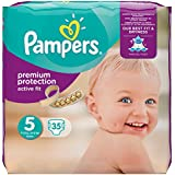 Pampers Active Fit Couche 11-23 kg Taille 5 35 Pièces