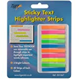 Tiger sticky text highlighter strips