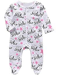 Amazon.es: Pijama Recien Nacido - Pijamas enteros / Ropa para dormir ...