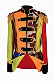 Damen Lappenkostüm Patchwork Jacke Karnevalskostüm Uniform Fasching Gehrock Köln (46)