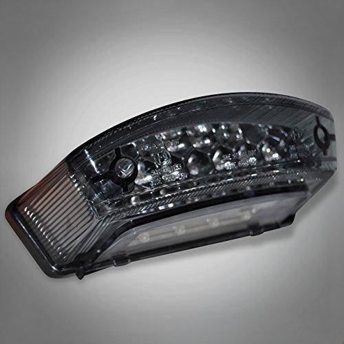 827 RicambiWeiss DUCATI MONSTER 600 750 900 LED Rücklicht Grau Hecklicht Heckleuchte