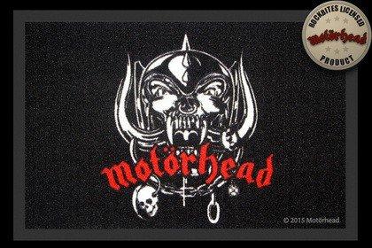Motörhead Fußmatte Skull Logo Warpig Fussmatte Schmutzmatte Türabstreifer Türmatte Fußabstreifer Teppich doormat -