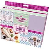 Le Meilleur Pâtissier 96704 MP Kit Poche + 9 Douilles Silicone