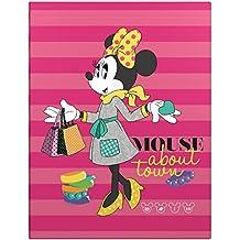 Minnie Mouse 88201197 - Carpetas de 4 anillas con diseños escolares, A5