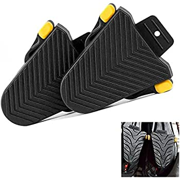 011e7ae9a0623c KOBWA Cleat Covers, 1 Pair Cycling Shoes Spd Cleat Covers for Shimano SPD-SL  Cleats Pedal Rubber Covers