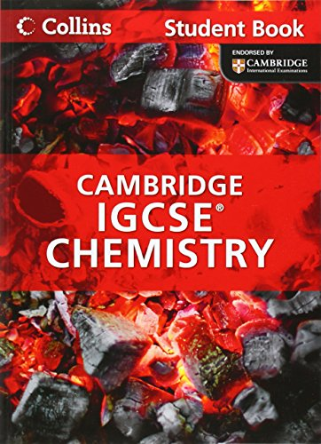 Collins Cambridge IGCSE - Cambridge IGCSE Chemistry Student Book by Chris Sunley (11-Jan-2013) Paperback