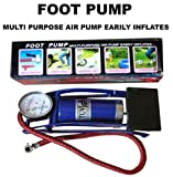 #2: jk Air Foot Pump Heavy Compressor For Bike,Car,Cycles,& all other vehicles