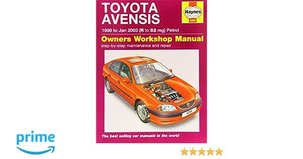 toyota avensis petrol 98 jan 03 haynes repair manual chilton rh amazon co uk Toyota Auris 2016 Toyota Avensis