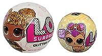 Set L.OL Diviso due volte, include una palla glitterata e una palla delle nuove serie L.O.L mascotte, gioco pomeriggi con i tuoi amici e bambole L.O.L. Età: dai 36 mesi in su