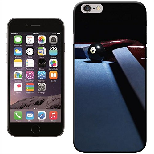 Snuggle Coque rigide pour Apple iPhone Motif Billard Eight Ball In Corner Pocket