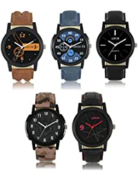Victance New Aditon Stylist Watches With Multicolor Dial And Multicolor Leather Straps Casual Stylist Combo Watch...