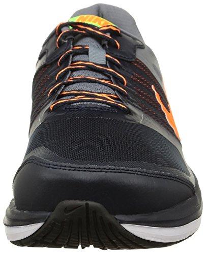 Nike Herren Dual Fusion X Laufschuhe Negro / Gris / Naranja