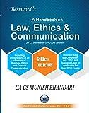 Law, Ethics and Communication For CA Intermediate(IPC)(Old Syllabus) November 2018, 20th Edition by CA CS MUNISH BHANDARI