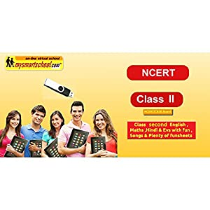 CBSE / NCERT Class 2 USB Pendrive Course For Exam Preparation 2021. Subject Includes Engilsh,Maths,Hindi,Evs For Windows…