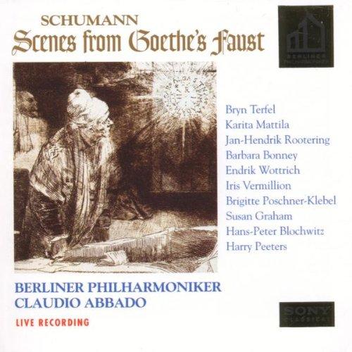Schumann: Scenes from Goethe's Faust Gesamtaufnahme