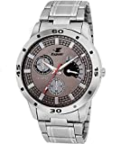 Espoir Chronograph Pattern Analogue Silver Dial Men' Watch - ES109P