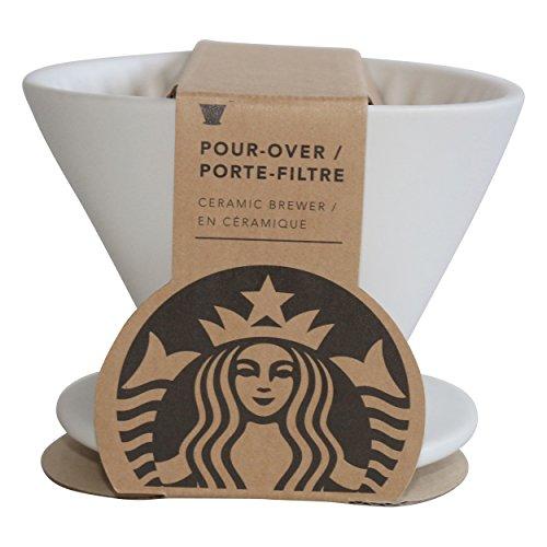 Starbucks Kaffeefilter weiss Kaffeetassenfilter Royal white pour over coffee filterceramic