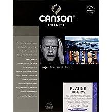 Canson 206211036 - Papel fotográfico (A4, 25 hojas), color blanco