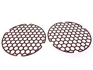 2 st ck sp lbeckeneinlagen sp lbecken einlage sp le einlage gitter rund braun. Black Bedroom Furniture Sets. Home Design Ideas