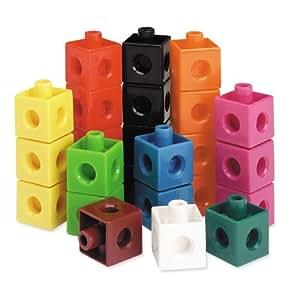 Ressources -ducatives Ler7584 Cubes snap ensemble de 100