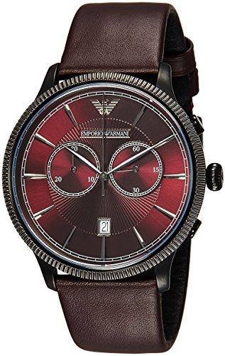 Armani Men's AR1795 Classic Aubergine Watch