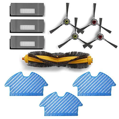 Zealing aspiradora recambios Accesorios Compatible con Ecovacs DE5G-KTA Deebot OZMO 900 901 Robot Aspirador...