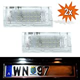 Do!LED E46-4D LED Kennzeichenbeleuchtung Xenon Weiss mit E Prüfzeichen
